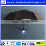 High quality promotional torch handle led light up umbrella from China supplier