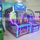 Kids coin operated video shooting ball game machine/ china amusement children play redemption game machine for game center
