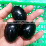 wholesale small natural rock obsidian crystal stone yoni eggs quartz eggs for sale