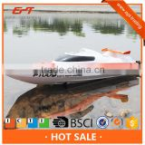 Middle size 2.4G water cooling system small rc speed jet boats for racing