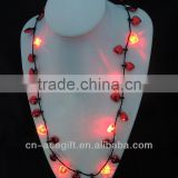 led lights for christmas,holiday flashing necklace,Party decorations,party favor,glow lights necklace