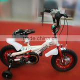 2013 steel good design children bike/bicycle kids bicycle steel frame white color suit for boy or girl