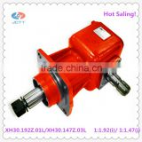 30HP 1:1.92 Right Angle Agricultural Gearbox Used in Mowers