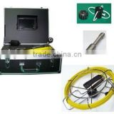 Pinpoint drain cleaning plumber pipe inspection camera with text writer and 7inch LCD Moniotr