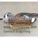 2015 new arrival plastic painted full body duck decoy