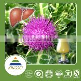 cGMP Manufacture Supply Food Grade Pure Natural Silymarin Milk Thistle Extract Kosher KS-18