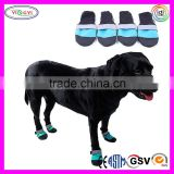 B774 Waterproof Outdoor Pet Dog Boots Wearable Non Slip Shoes Rain Pet Boots