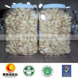 China fresh garlic Vacuum Nitrogen and Jar packed peeled garlic with HACCP and HALAL certificates