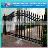 High quality direct professional supplier factory low price metal sliding garden gate