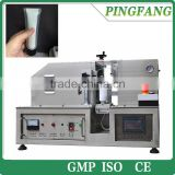 HX-007 Semi-Automatic ultrasonic double layered tube plastic soft Tube Sealing Machine