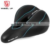 WHEEL UP 1pc Bike Saddle Mountain Bike Saddle Seat with Taillight Cycling Tool Bike Accessaries 3 colors