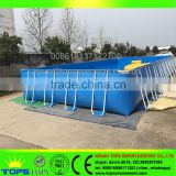 Above Ground Bracket Swimming Pool Durable PVC Metal Bracket Swimming Pool