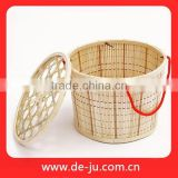 Deep Basket Cover Gift Presend Cargo Chinese Basket