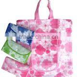 The newest folded shopping bag with full color printing