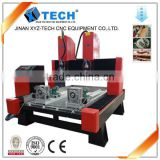 Facory Supply protable stone metal Processing stone cnc router cutting machine price