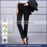 Female slim pants straight legged trousers ladies dress pants overalls skinny pants black suit pants custom made