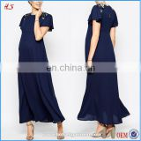 OEM service chinese cheap clothing chiffon maxi summer pergnant women dresses for maternity