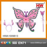Popular Beauty Play Set Cheaper Cloth Baby Butterfly Wings For Girls