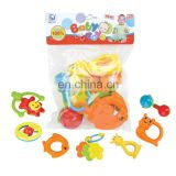 Activity Rings Baby Rattle Toddler Sensory Teether Toy Set