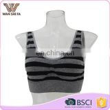 Nylon high quality fashion style u shape adult new sport bra