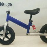 Balance bike with damping