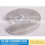 Medical Beauty disposable Washable high quality Available face rest covers,disposable U shape face rest cover
