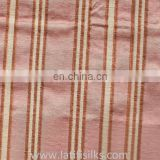 SILK FABRIC RED AND YELLOW AND BROWN
