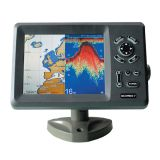 KCOMBO-7 GPS plotter and fishfinder combo transducer