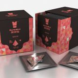 Fig Rose Pyramid Tea Bag