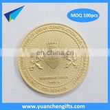 2016 Single Custom Coins no MOQ Wholesale Replica Metal Coin Silver
