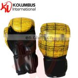 Tatami pattern boxing gloves, printed boxing gloves, synthetic leather boxing gloves Image