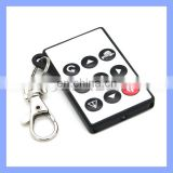 9 PET Keys 8M Distance Available Universal Camera Audion Keychain Remote Control Light Switch