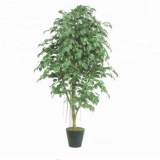 green colour natural leaves artificial bonsai banyan tree