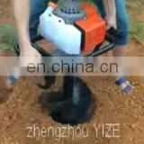 Small digging machine ground hole drill earth auger ice driller