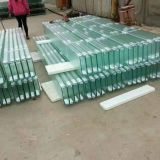 260x60x7 mm Thickness U shaped channel Glass for building showroom