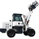 China Farm Articulated 1.2ton Wheels TL12 Mini Wheel Loader For Sale
