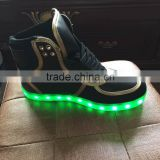 Ultra-affordable price unique design adults LED light up basketball shoes, LED sport shoes, adults running shoes with LED light