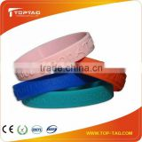 free samples active Silicon RFID wristband 13.56Mhz/125Khz/860MHz-960MHz                                                                         Quality Choice