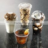Dongyang clear plastic clear disposable food grade food container for fruit nuts or salad packaging take away for party
