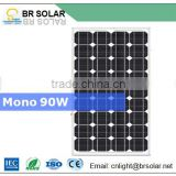 100W 60W 80W 120W 5 years warranty OEM available mono poly crystalline silicon 12v solar panel price
