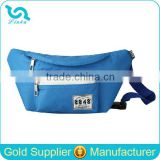 High Quality Blue Polyester Waist Bags For Women Fashion Women Waist Bag