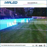 Shenzhen LED factory for MPLED P10 led display for sports games for show famos brand advertise