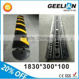 Plastic Rubber Road Safety Speed Humps
