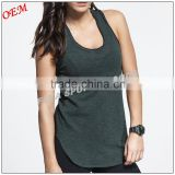 Activewear sports wear women's scoop neck fitness gym tank tops yoga apparel wholesale                                                                         Quality Choice
