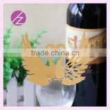 2016 new design wedding place card greeting card wine claim free design with unique style JK-50