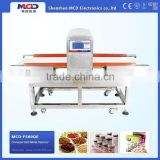 MCD-F500QE high quality auto-conveying food metal needle detector drug industry scanning machine