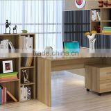 wooden l shaped table wholesale computer desk specifications(SZ-CDT041-3)