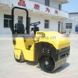 small ride-on double drum roller,road roller,Japan engine and bearing 20HP,Max.working weight 1480kgs,CE prove
