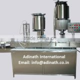 Vial Filling & Rubber Stoppering Machine For 2ml to 250ml Vials & Bottles Manufacturer