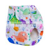New Cute natrual organic baby cloth diapers wholesale China